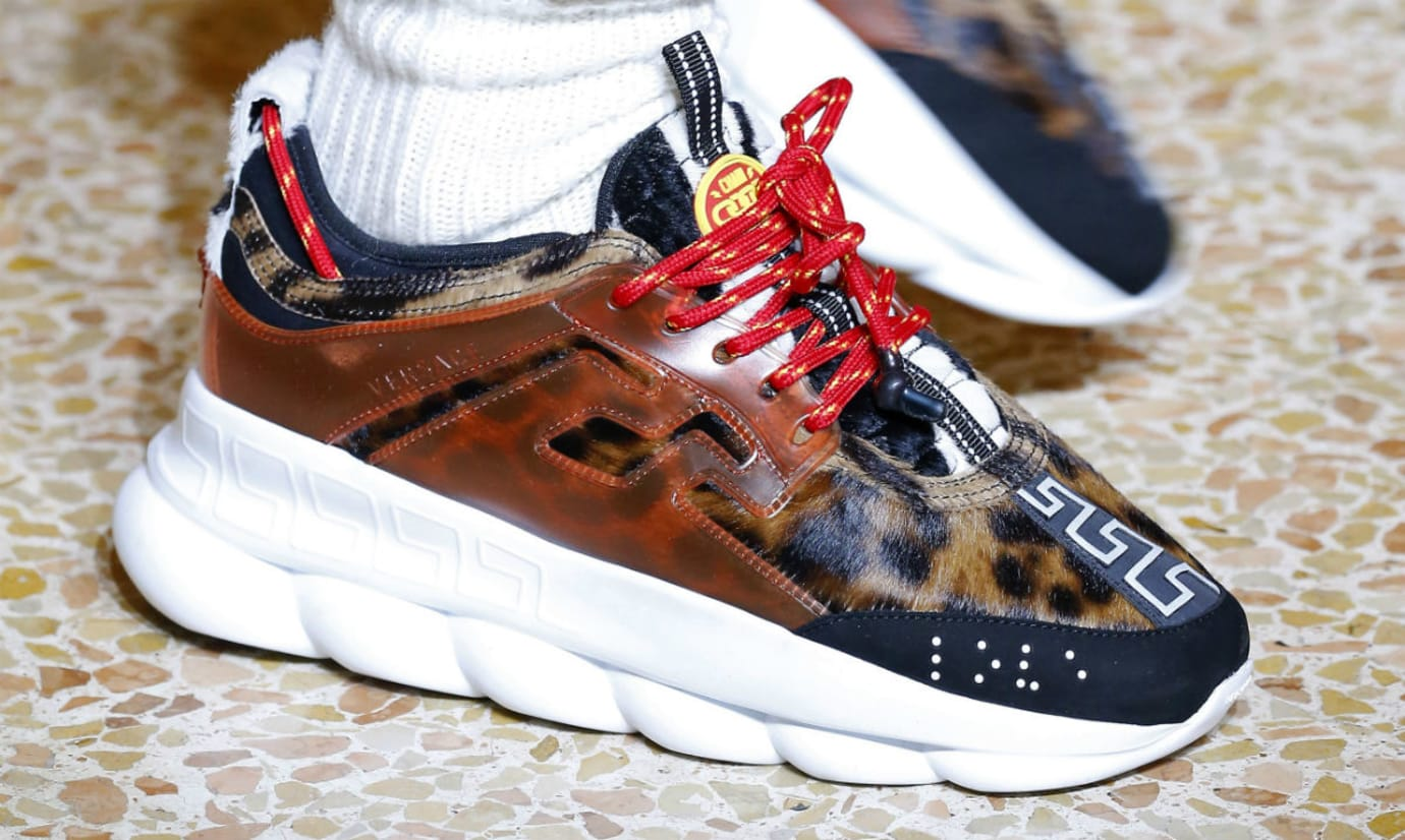 2 Chainz x Versace Chain Reaction Cheetah