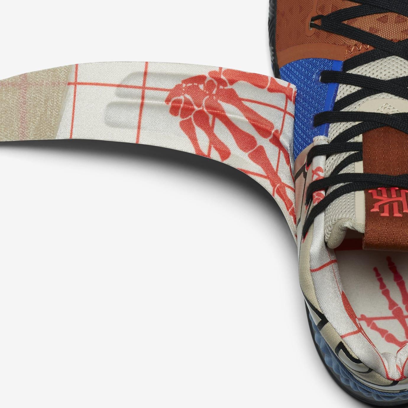 Nike Kyrie Hybrid AJ5165-900 Inside Strap