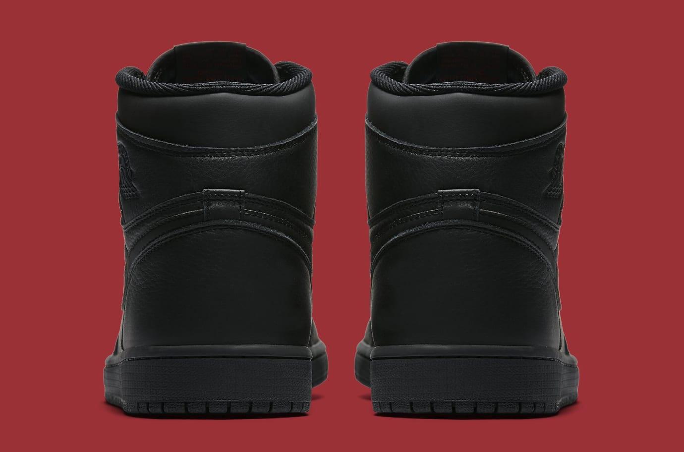 f4653eb3ddd9e Image via Nike Air Jordan 1 Black Red 555088-022 Heel