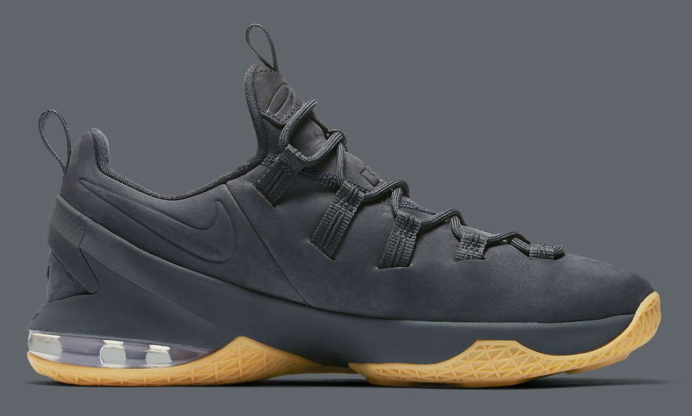 new style 62ff2 1b624 Nike LeBron 13 Low Premium Anthracite Medial AH8289-001