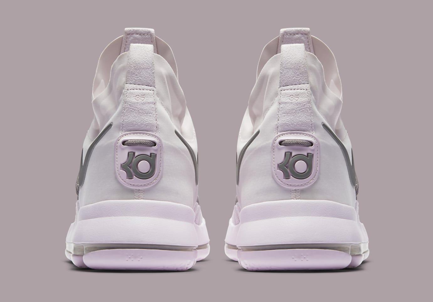 Pearl Pink Nike KD 9 Elite 914692-600 Heel