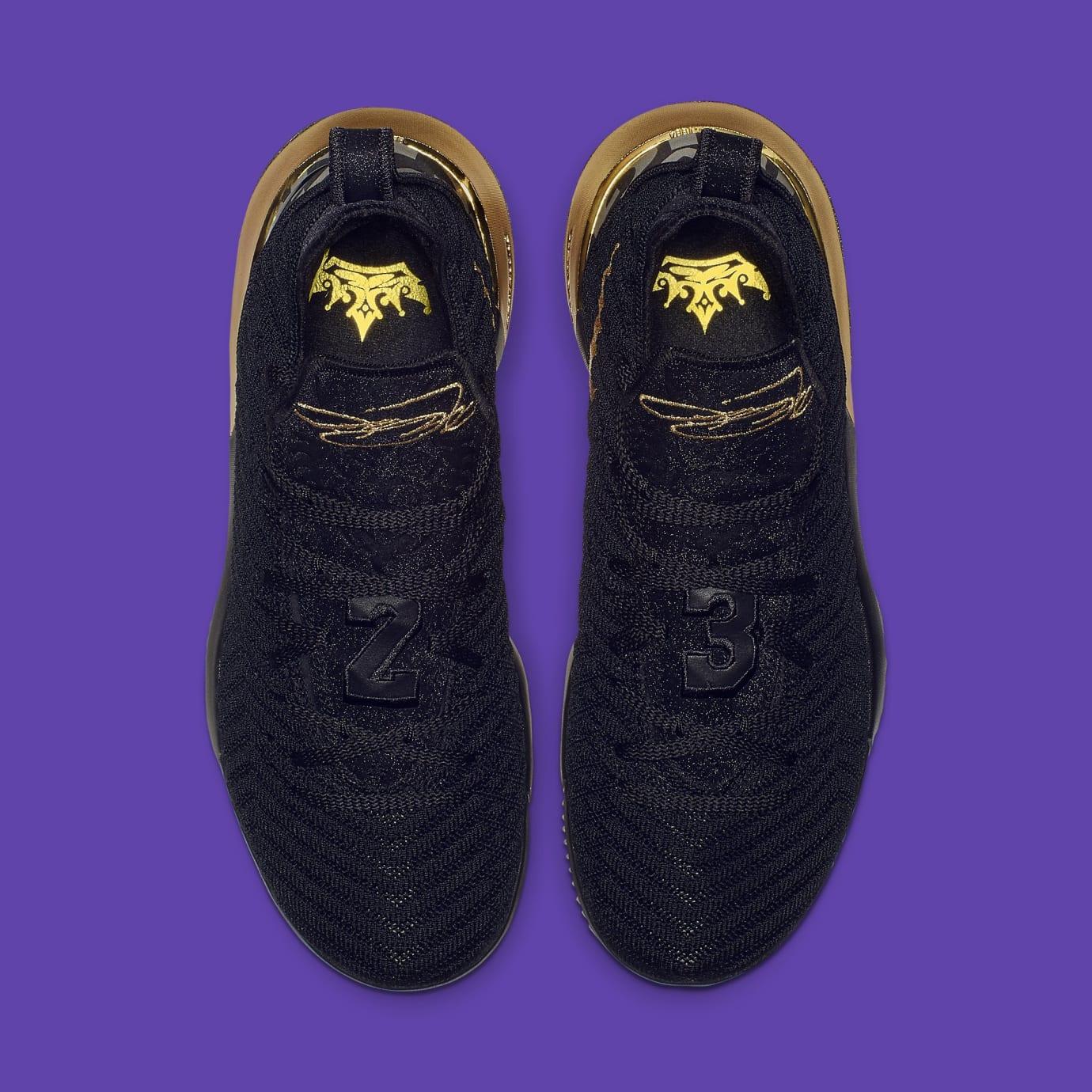 new concept 6b761 3fb1e Image via Nike Nike LeBron 16 XVI I m King Release Date BQ5970-007 Top