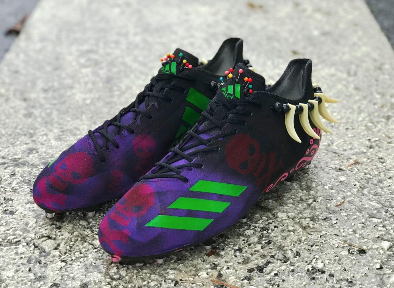Adidas Adizero Landon Collins Voodoo Cleats Left