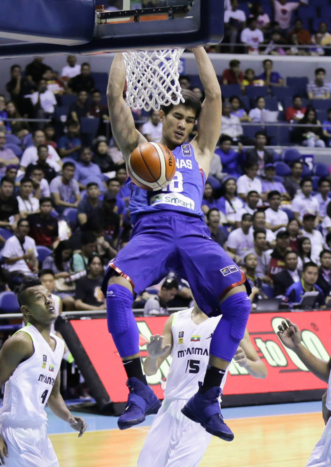 Gilas Pilipinas Wears The Agimat Nike Lebron 14 In The Seaba Championship Sole Collector