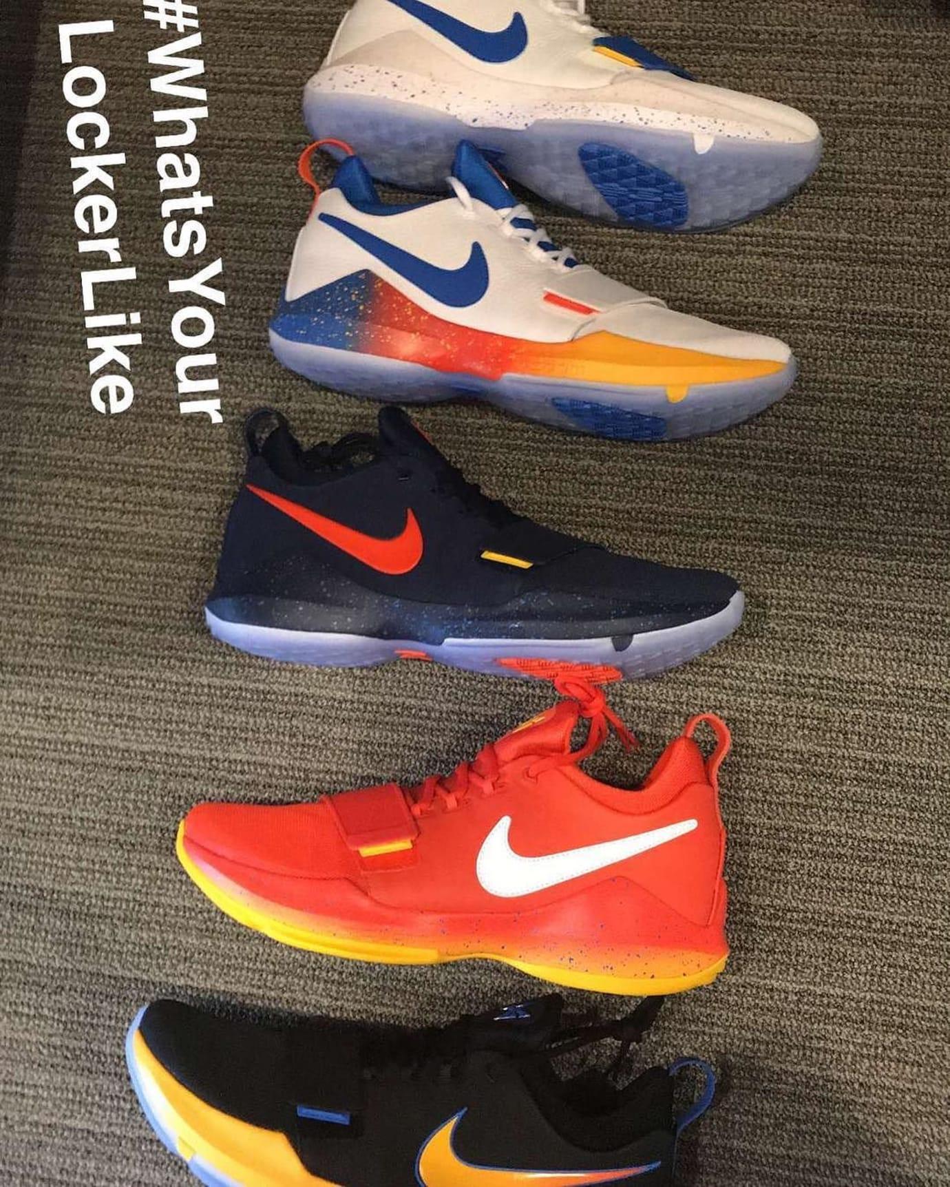 Nike PG1 OKC Colorways