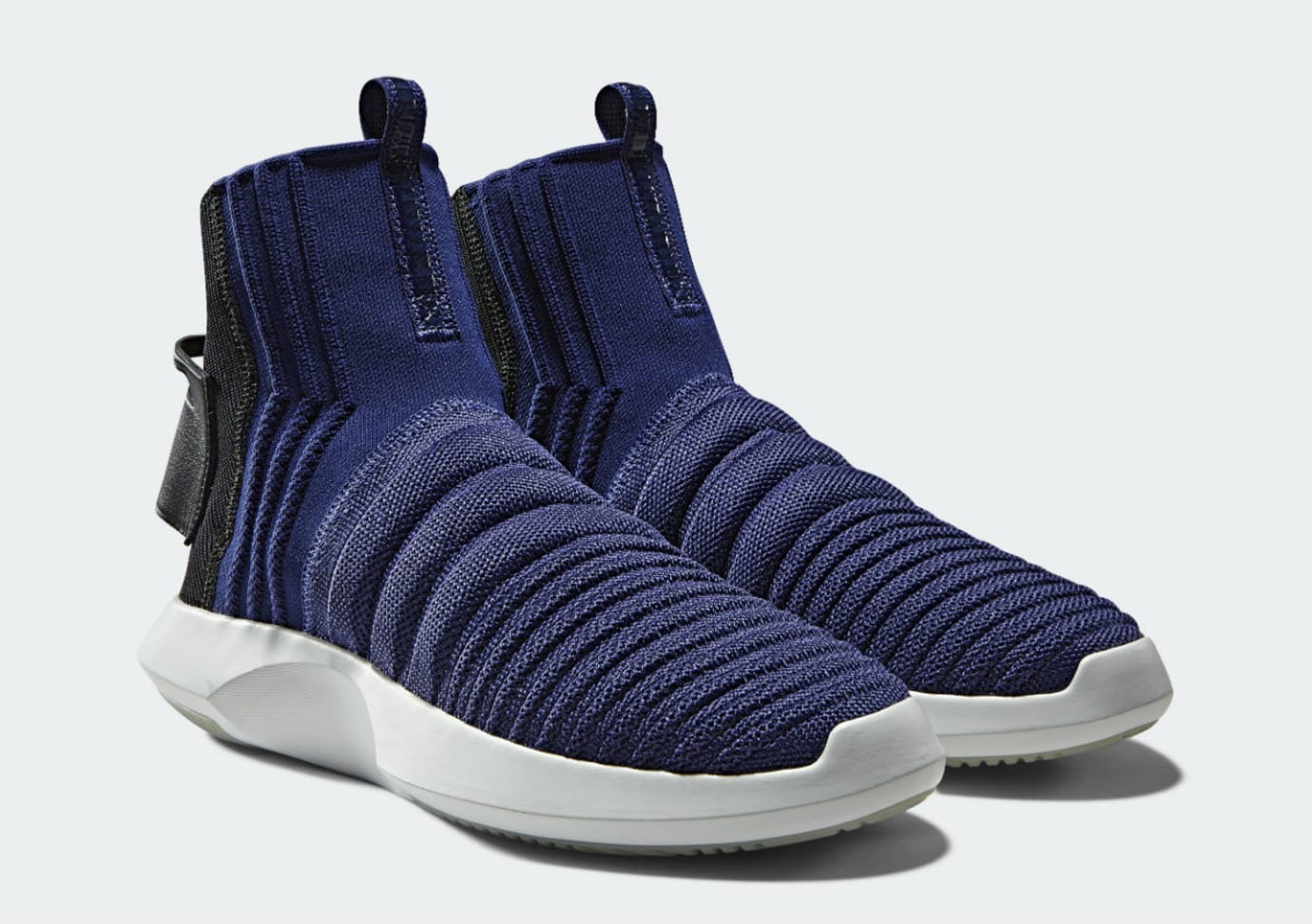Adidas Crazy 1 ADV Sock Primeknit Real Purple Release Date CQ1011 Front