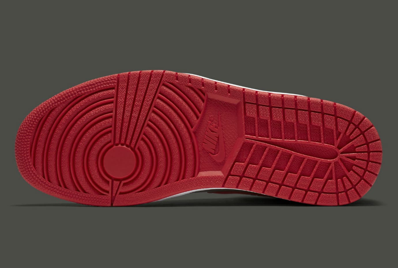 Air Jordan 1 Camo River Rock Red Release Date Sole AA3993-032