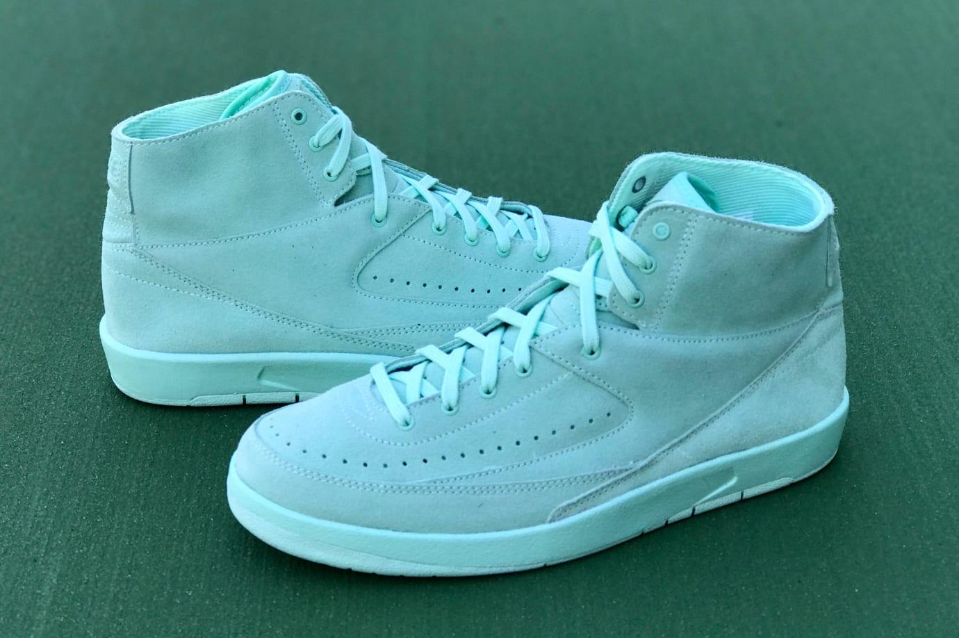 Mint Foam Air Jordan 2 Decon