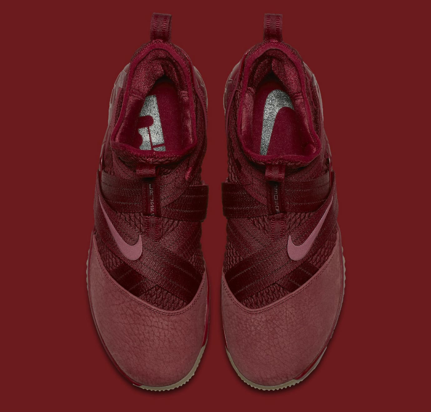 a4a7dade55d83 Image via Nike Nike LeBron Soldier 12 XII Team Red Cavs Release Date  AO4055-600 Top