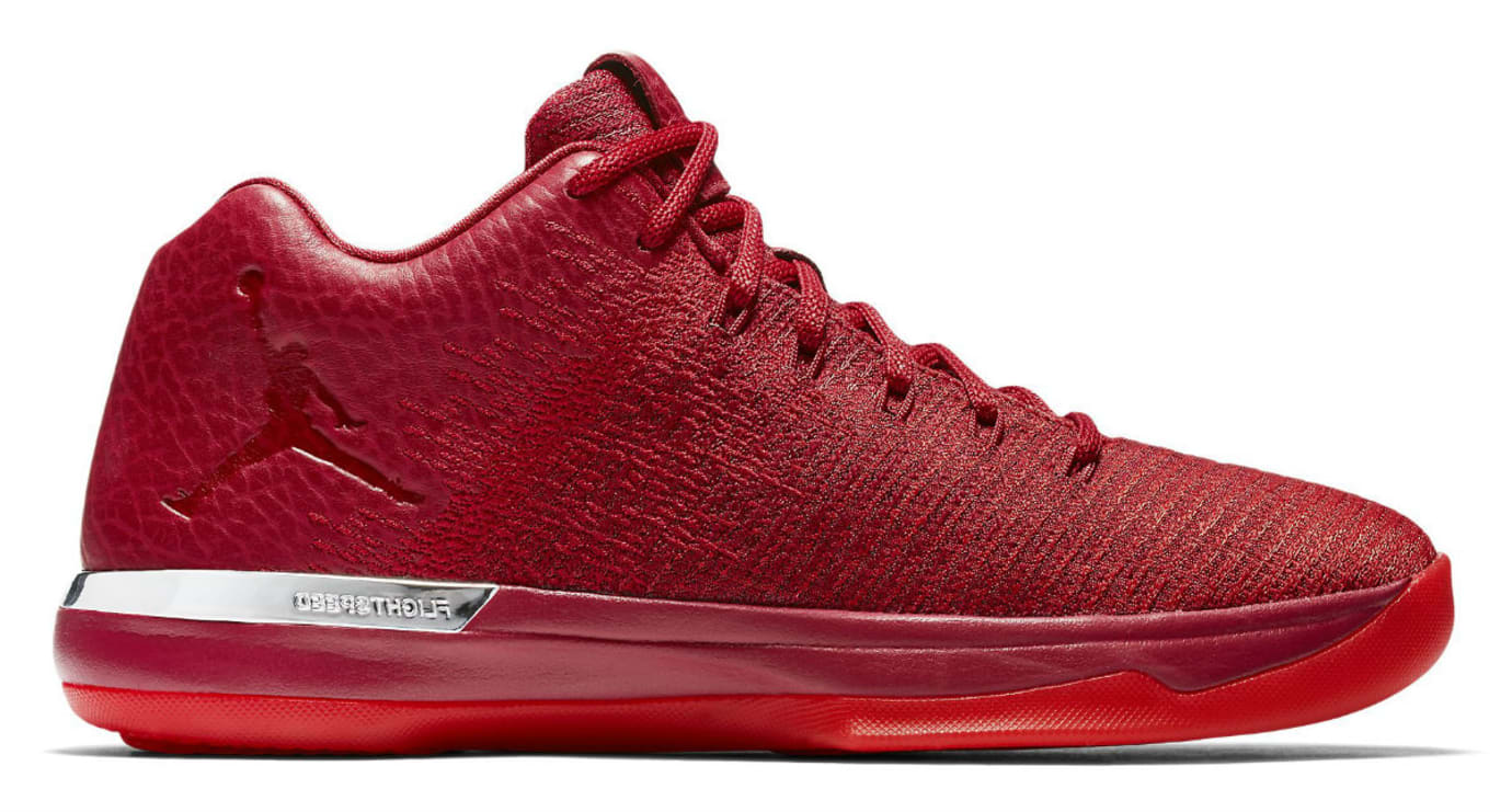 1f721a843bf Air Jordan 31 Low All-Red Chicago Release Date 897564-601 | Sole ...