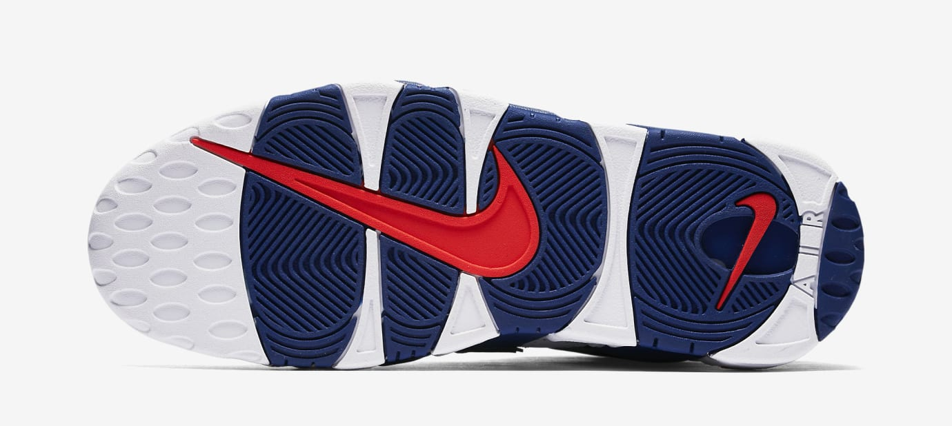Nike Air More Uptempo Knicks 921948-101 Sole