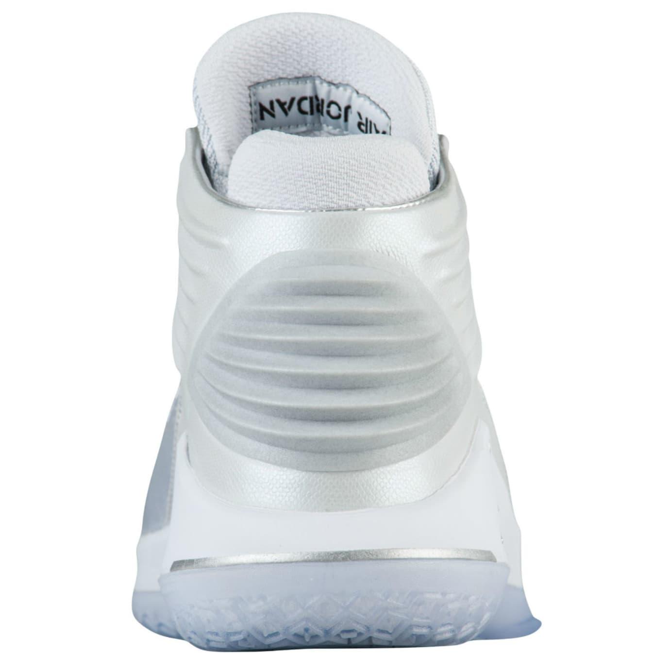 Air Jordan 32 Pure Platinum Release Date AA1253-007 Heel