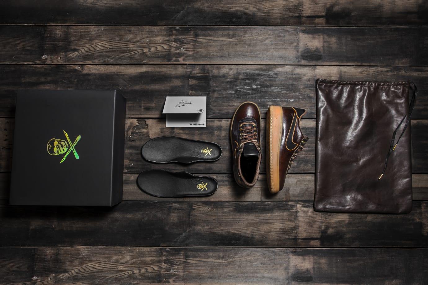 Jack Daniels x The Shoe Surgeon x Nike Air Force 1 6