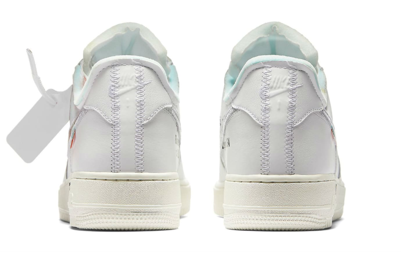 Off-White x Nike Air Force 1 Low Complex Con Release date AO4297-100 ... 8f8e636e04
