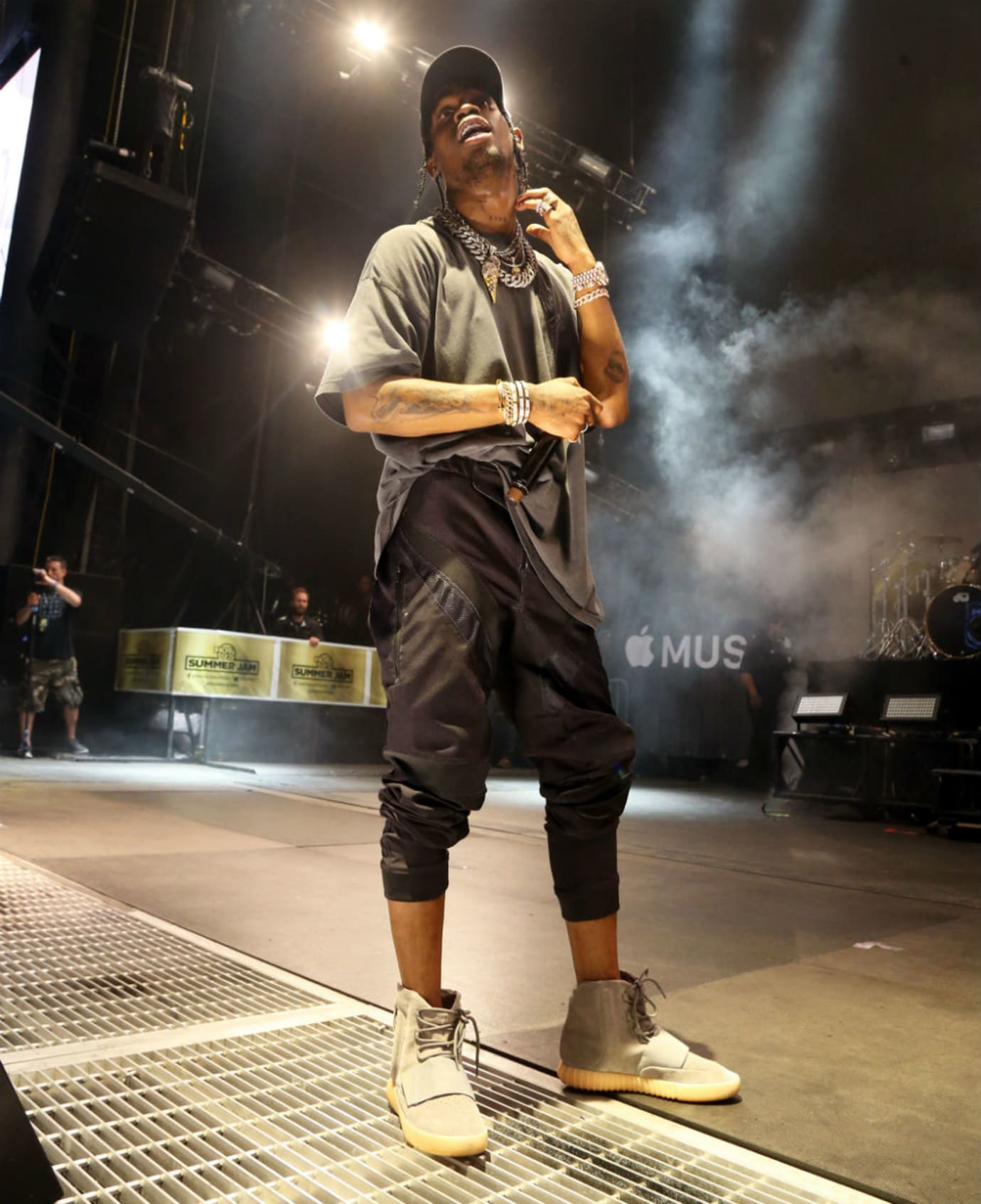 3925a58cd48cb Travis Scott takes a shot at Adidas in Instagram rant.