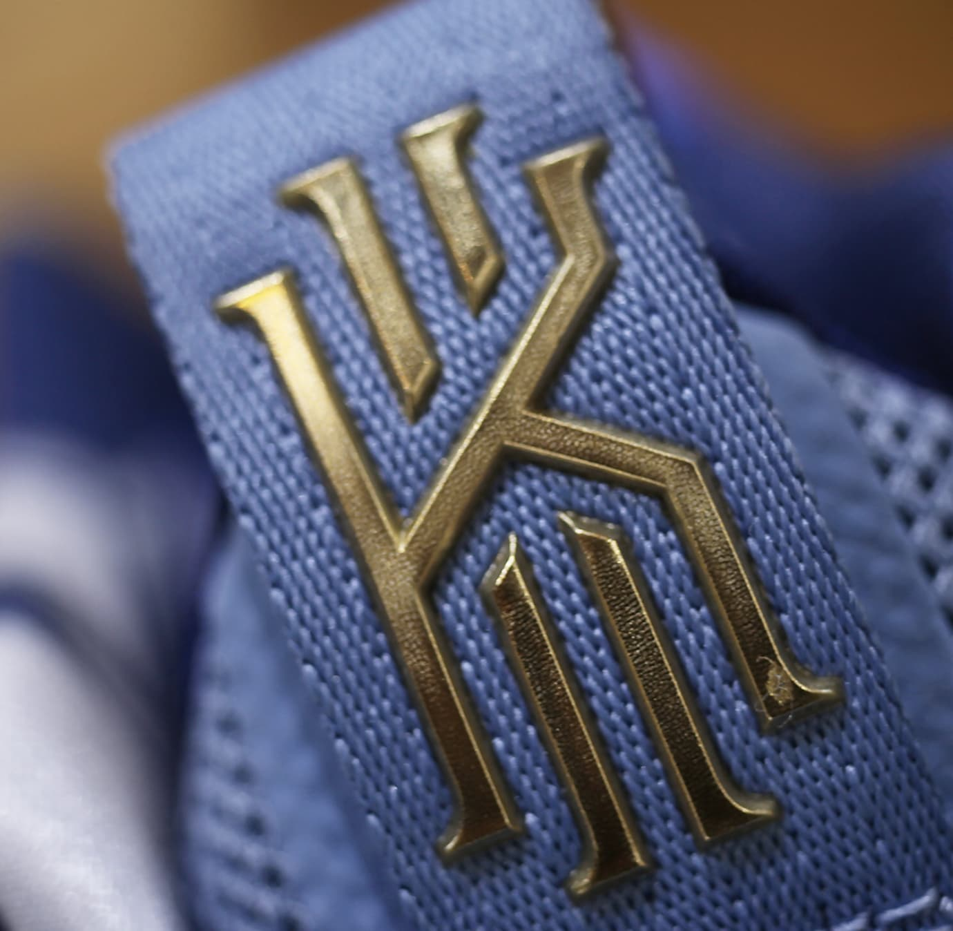 Nike Kyrie S1 Hybrid 'Blue/Gold' (Tongue)