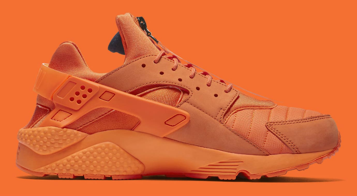 9df5462f5 Nike Air Huarache Run Chicago Orange Release Date AJ5578-800 Medial
