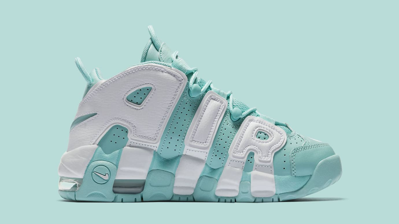 2d16c673b91c0 Nike Air More Uptempo GS Island Green Release Date 415082-300