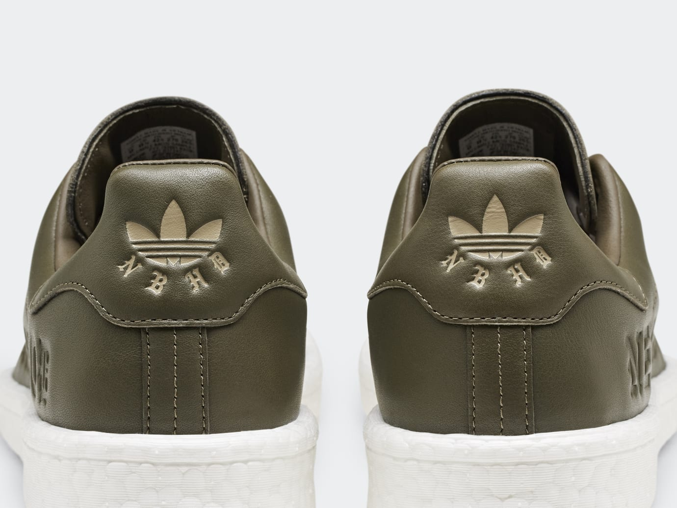 Neighborhood x Adidas Stan Smith Boost B37342 (Heel)