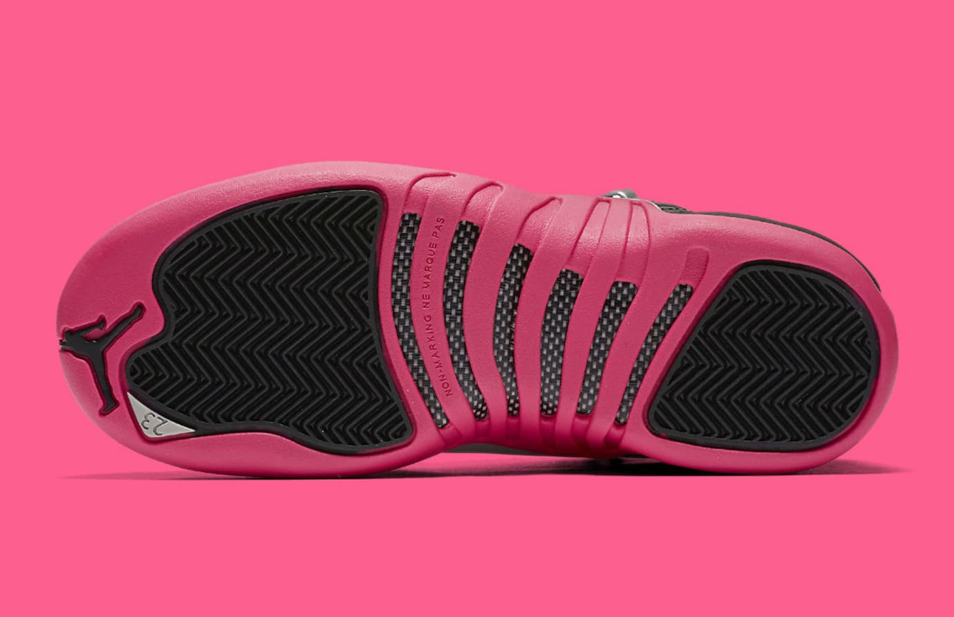 Air Jordan 12 Deadly Pink Release Date Sole 510815-026