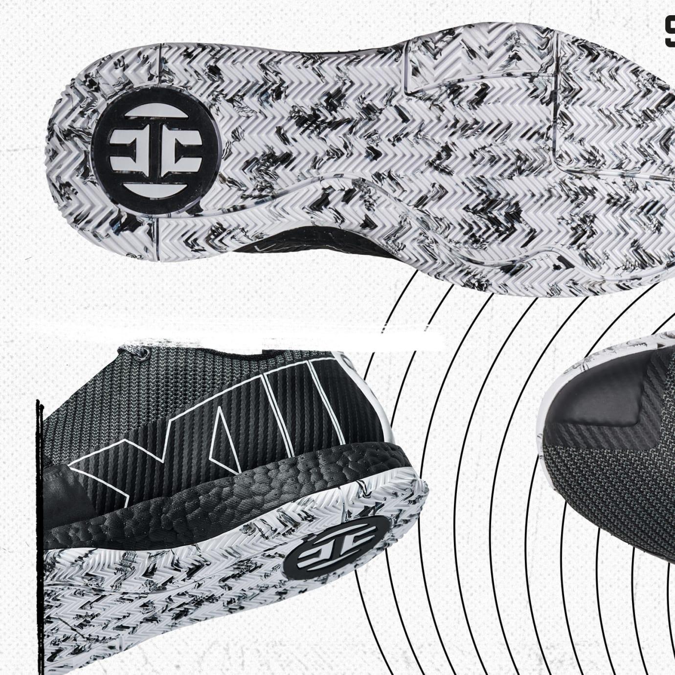 Adidas Harden Vol. 3 'Cosmos' (Detail)