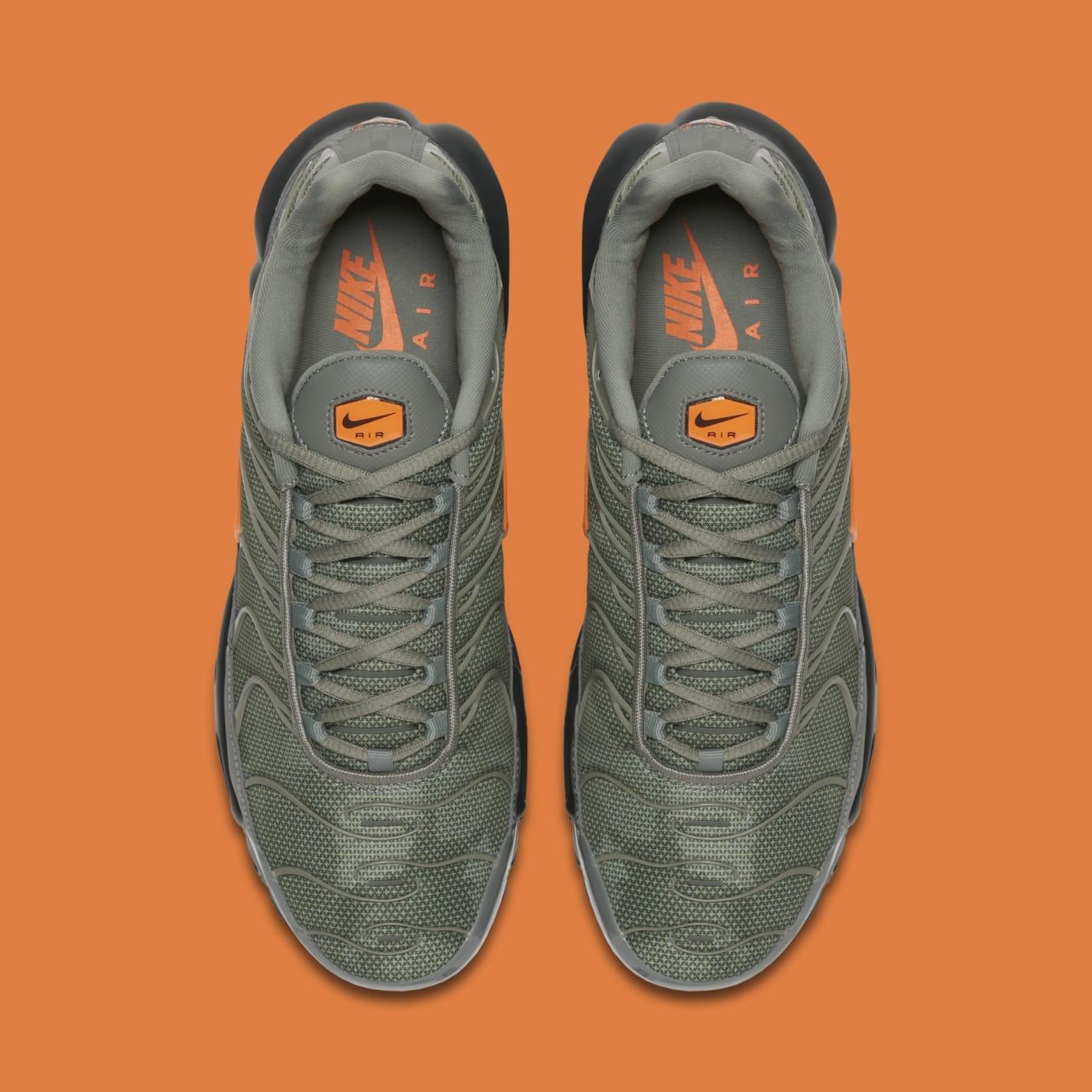 Nike Air Max Plus 'Dark Stucco/Total Orange' AJ2013-003 (Top)