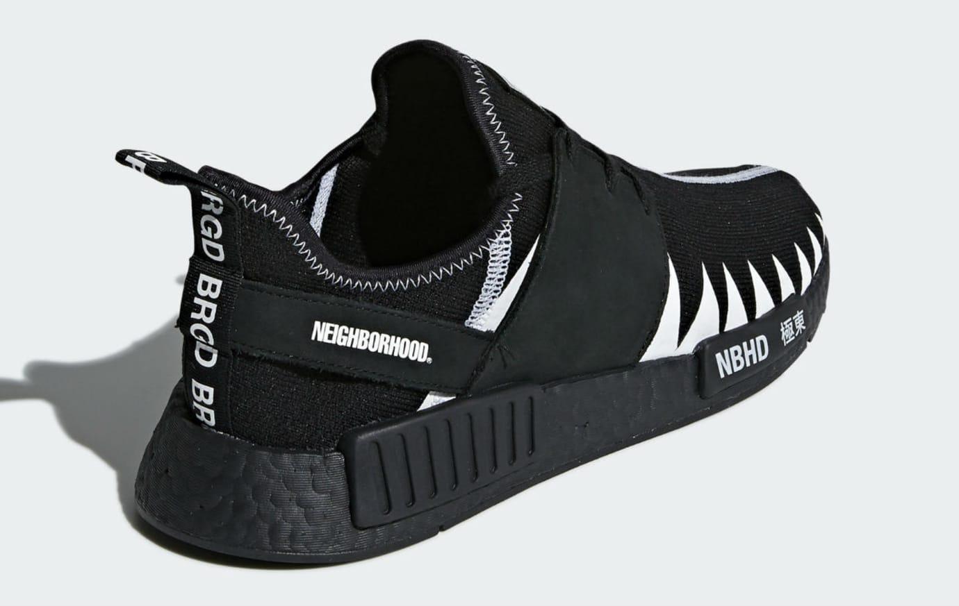 Neighborhood x Adidas NMD R1 Release Date DA8835 Heel