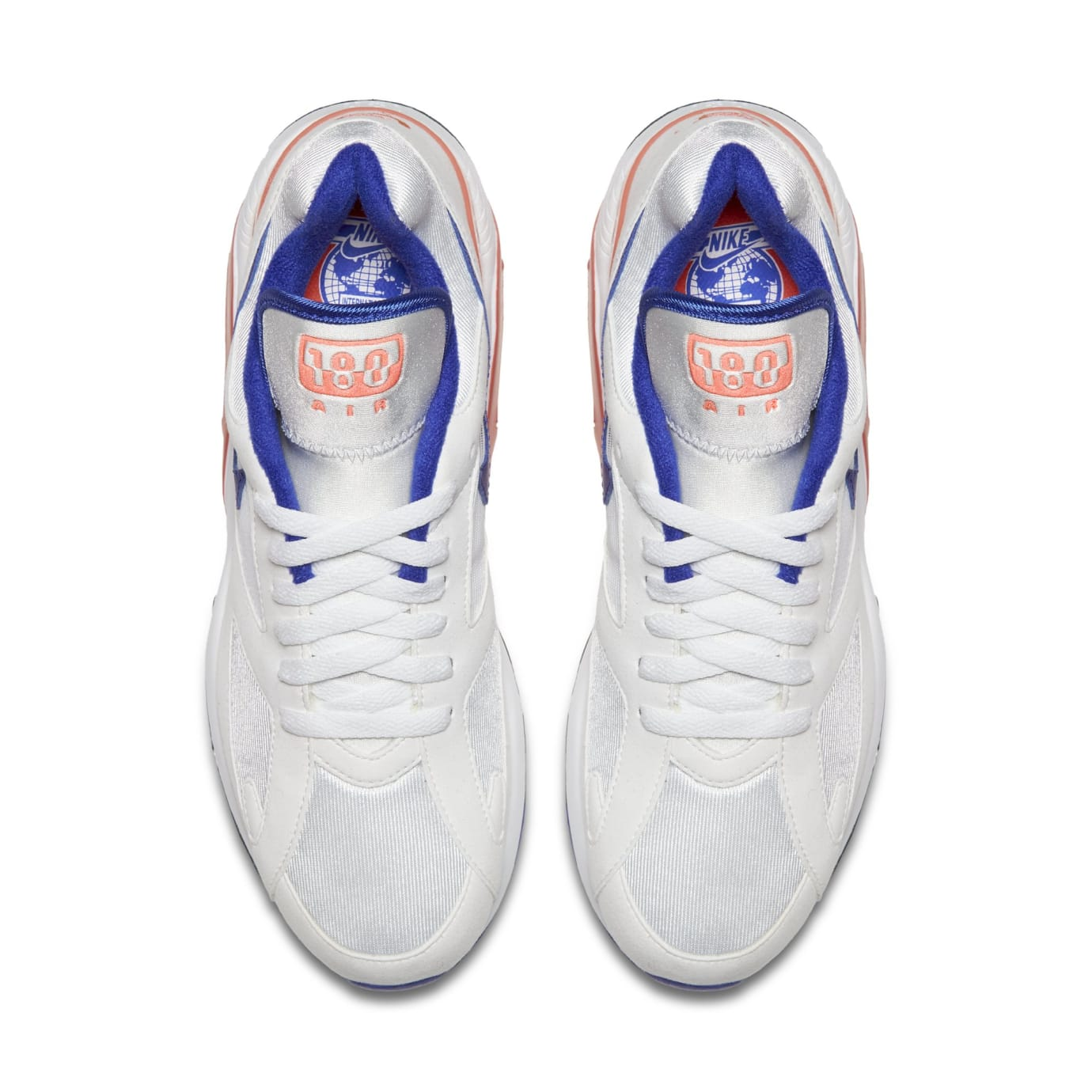 Nike Air Max 180 OG White/Ultramarine-Solar Red-Black 615287-100 (Top)