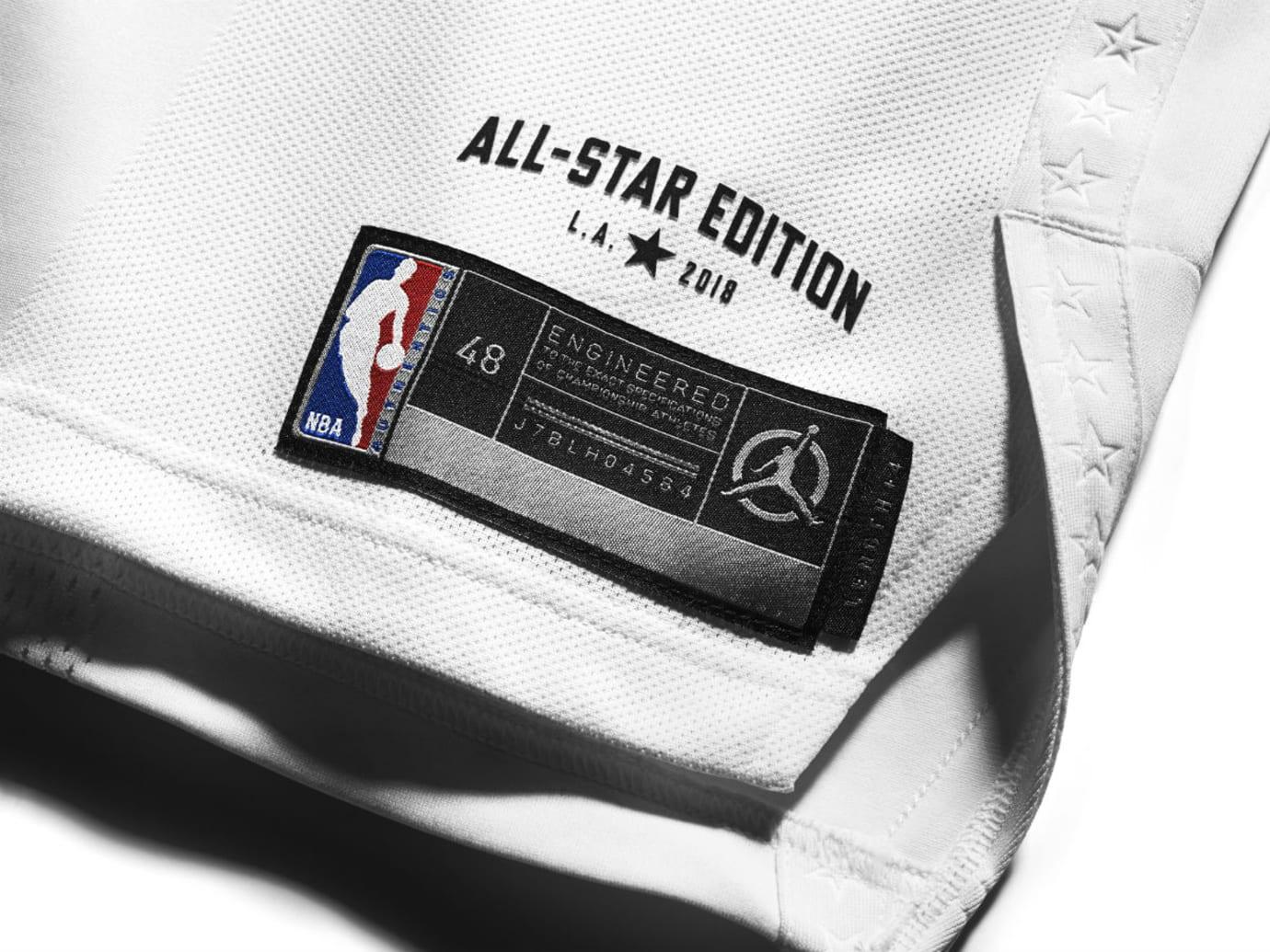 Jordan Brand 2018 NBA All-Star Jerseys Westbrook Tag Detail