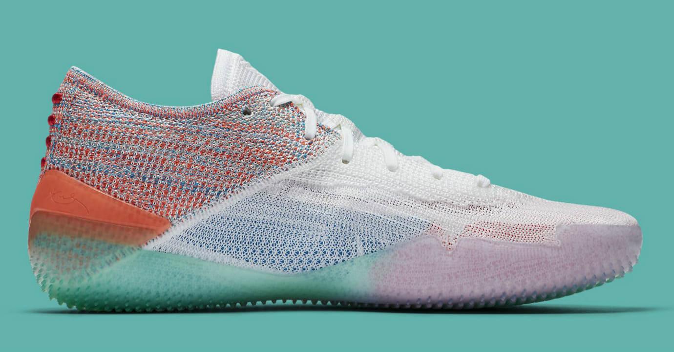 Nike Kobe A.D. NXT 360 White Multicolor Release Date AQ1087-102 Medial
