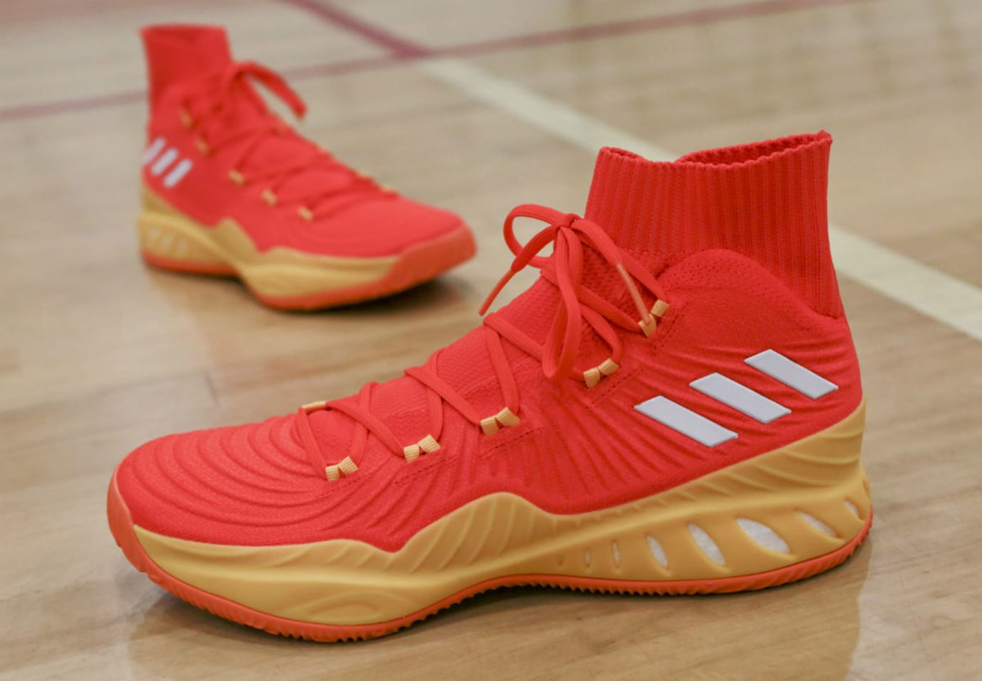 Candace Parker Adidas Crazy Explosive 17 All Star PE Left