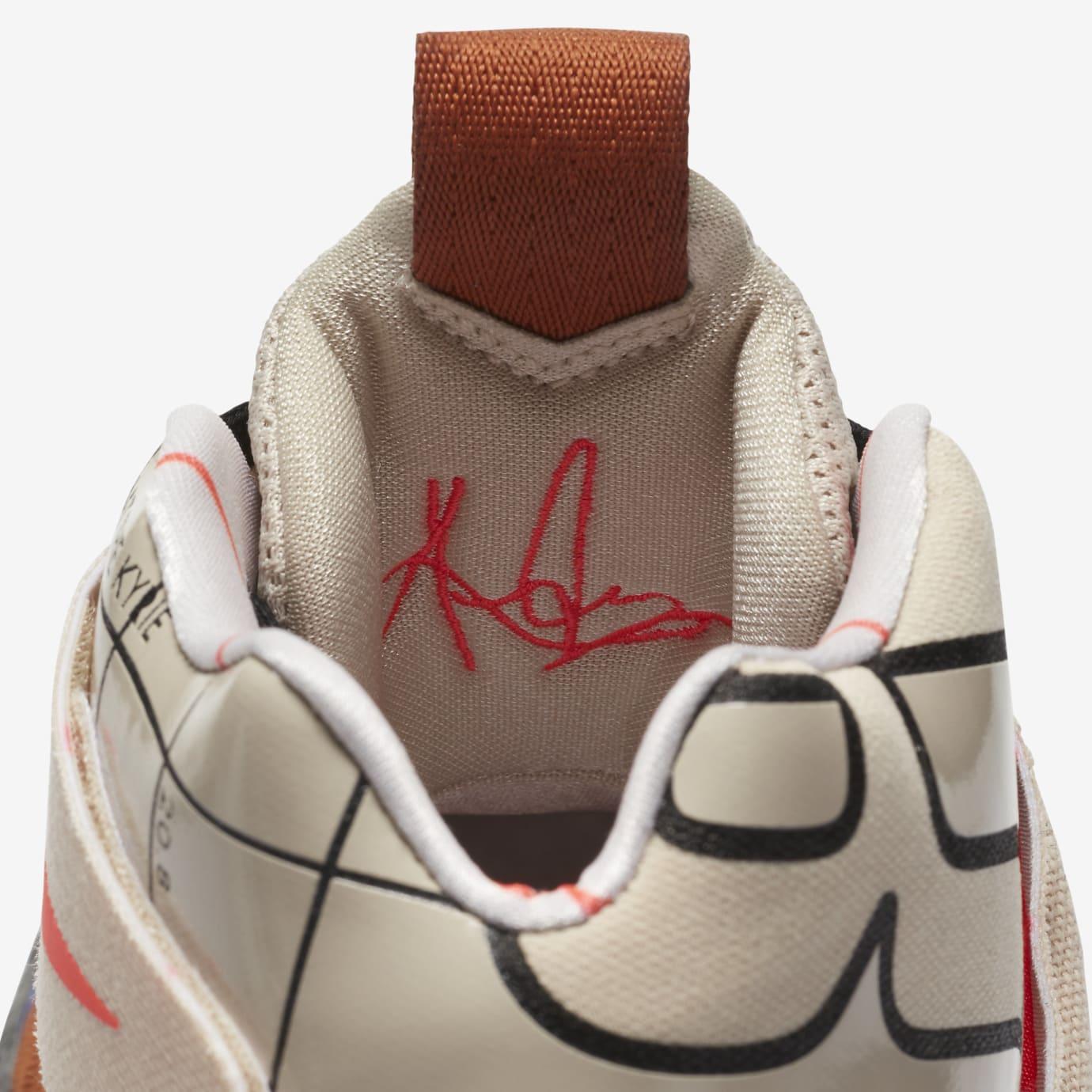 Nike Kyrie Hybrid AJ5165-900 Inside Tongue