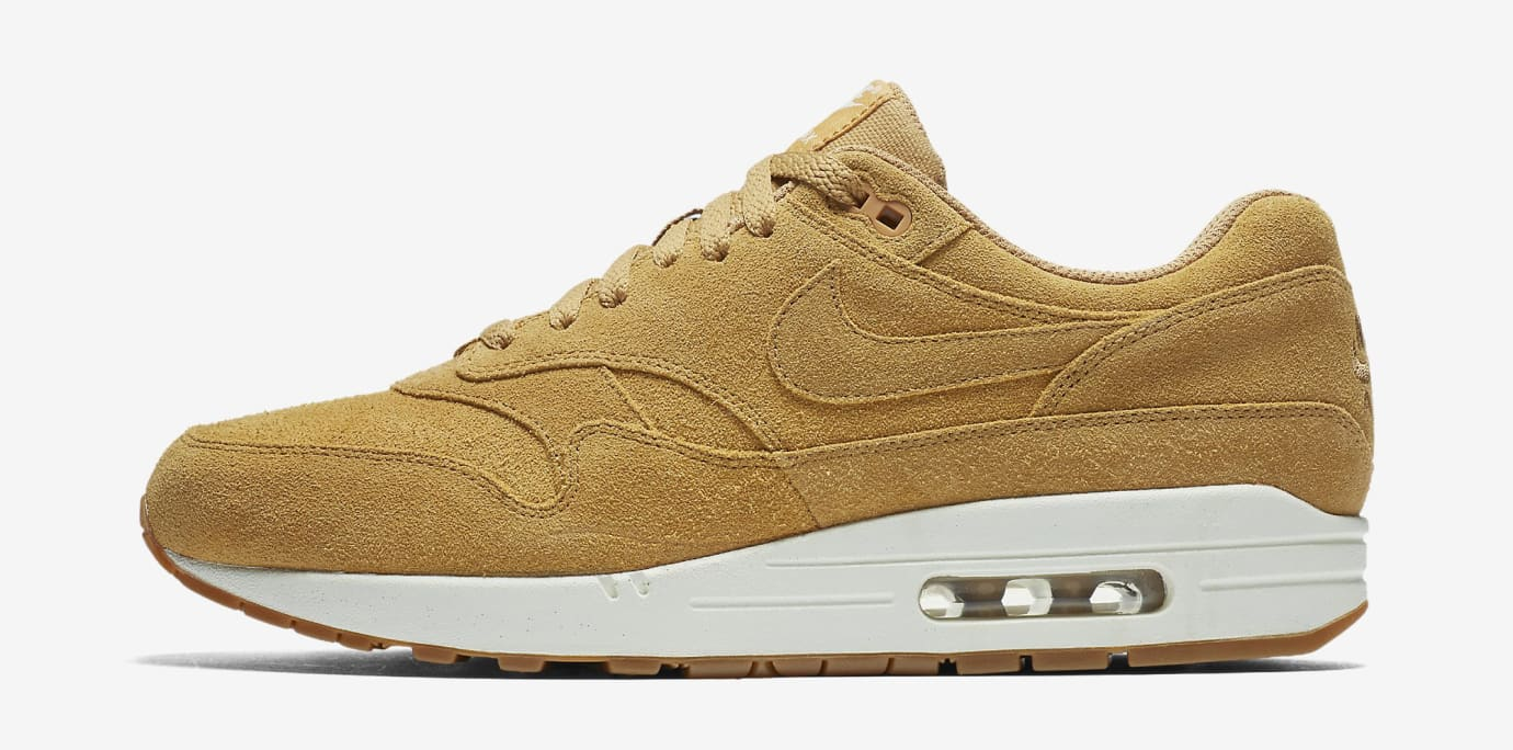 Wheat Nike Air Max 1 Flax 875844-203