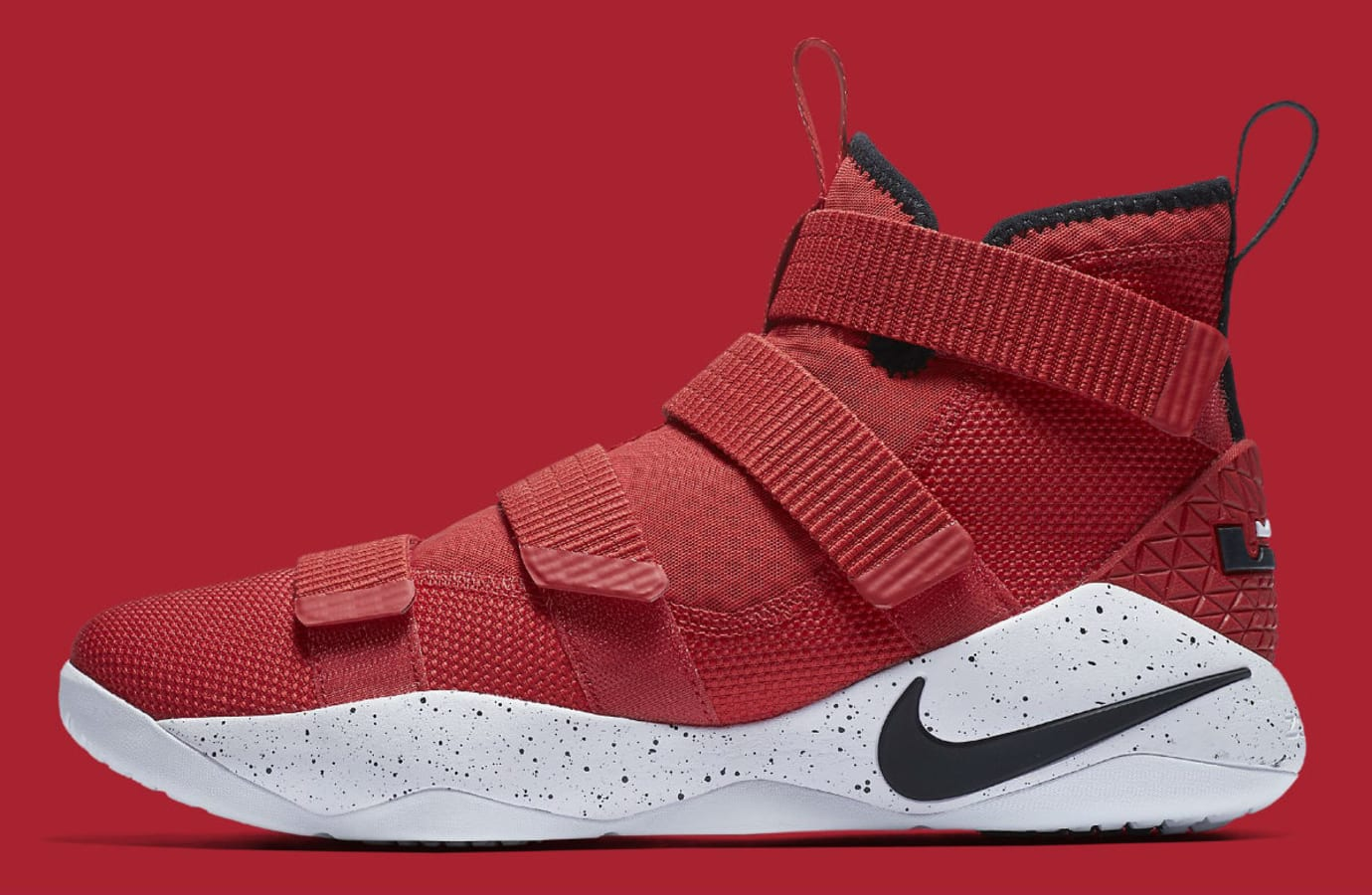 cf36a6ac9d70 Nike LeBron Soldier 11 University Red Release Date Profile 897644-601