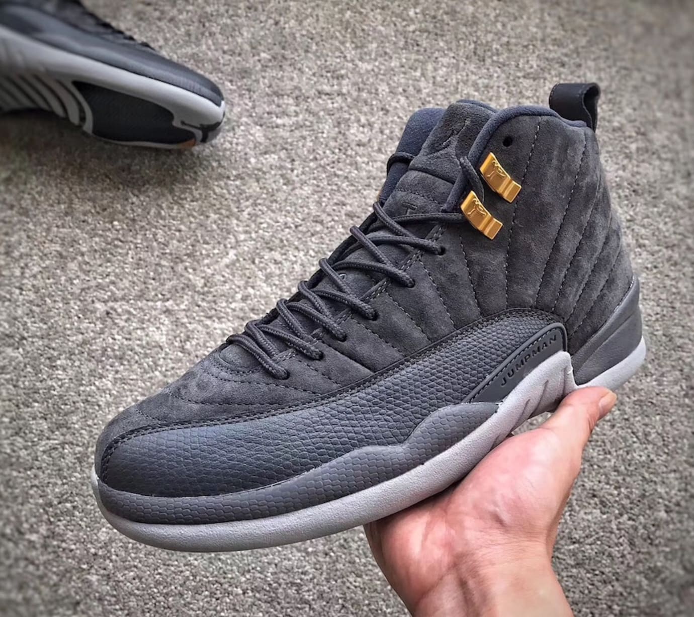 0a745ad64b3b9 Air Jordan 12 Dark Grey 2017 Release Date 130690-005 | Sole Collector