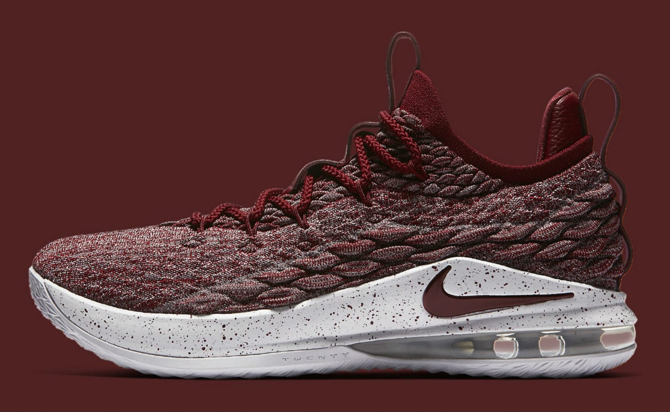 a3f30f86a19 Nike LeBron 15 Low Taupe Grey Team Red Vast Grey Release Date AO1755-200  Profile