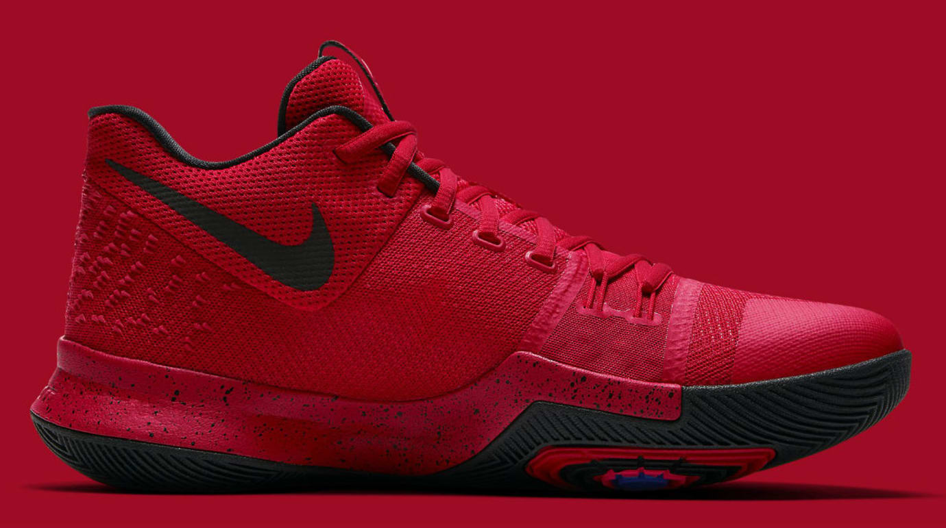 Nike Kyrie 3 Three-Point Contest University Red Release Date Medial 852395-600