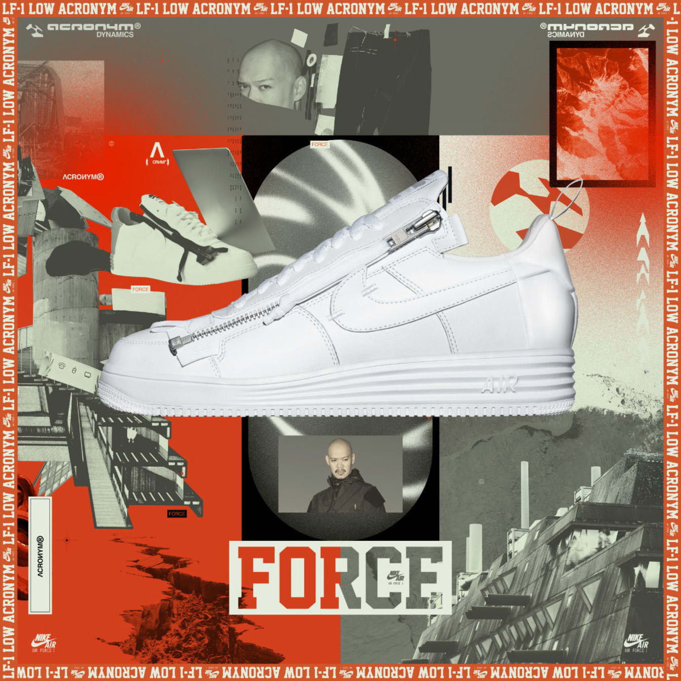 Acronym x Nike Air Force 1 Low Poster