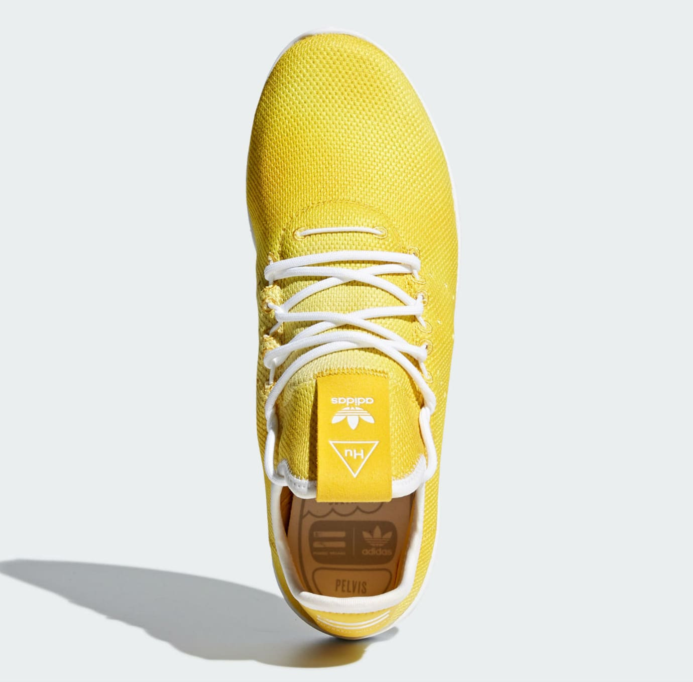 72c0fb845baaf Pharrell x Adidas Tennis Hu Holi Bright Yellow Release Date DA9617 ...