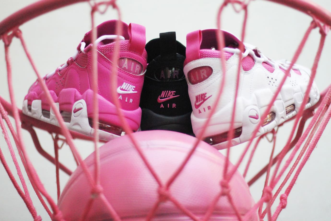 Sneaker Room Nike Air Money Breast Cancer Awareness Heel
