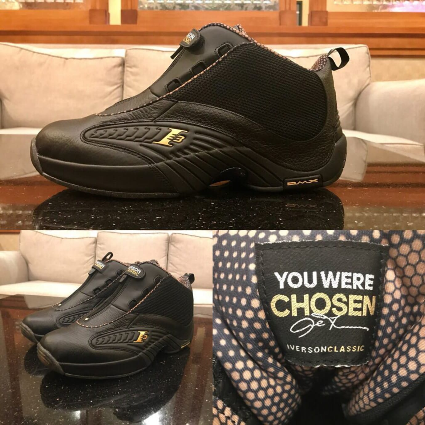 f02da438e7af Allen Iverson s Reebok Answer IV  Roundball  Sneakers Limited to 42 ...