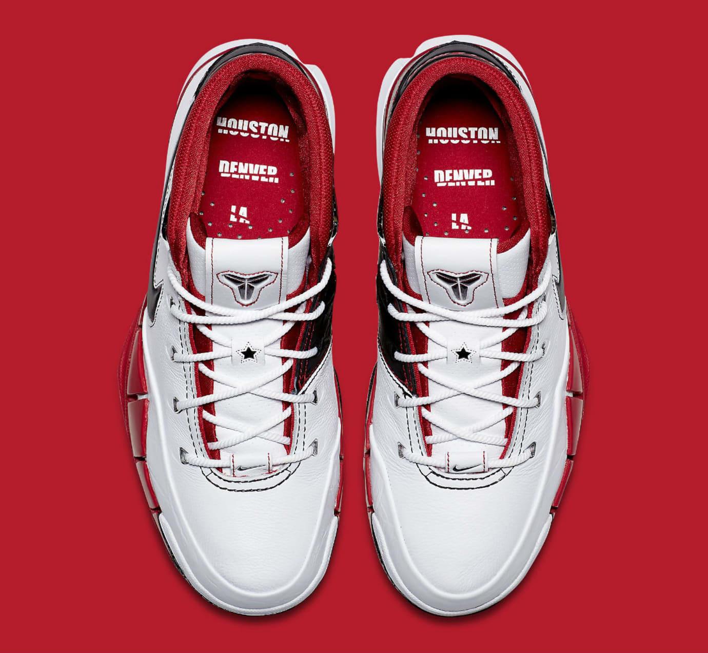 0c8aa4f389a5 Image via Nike Nike Zoom Kobe 1 Protro All-Star Release Date AQ2728-102 Top