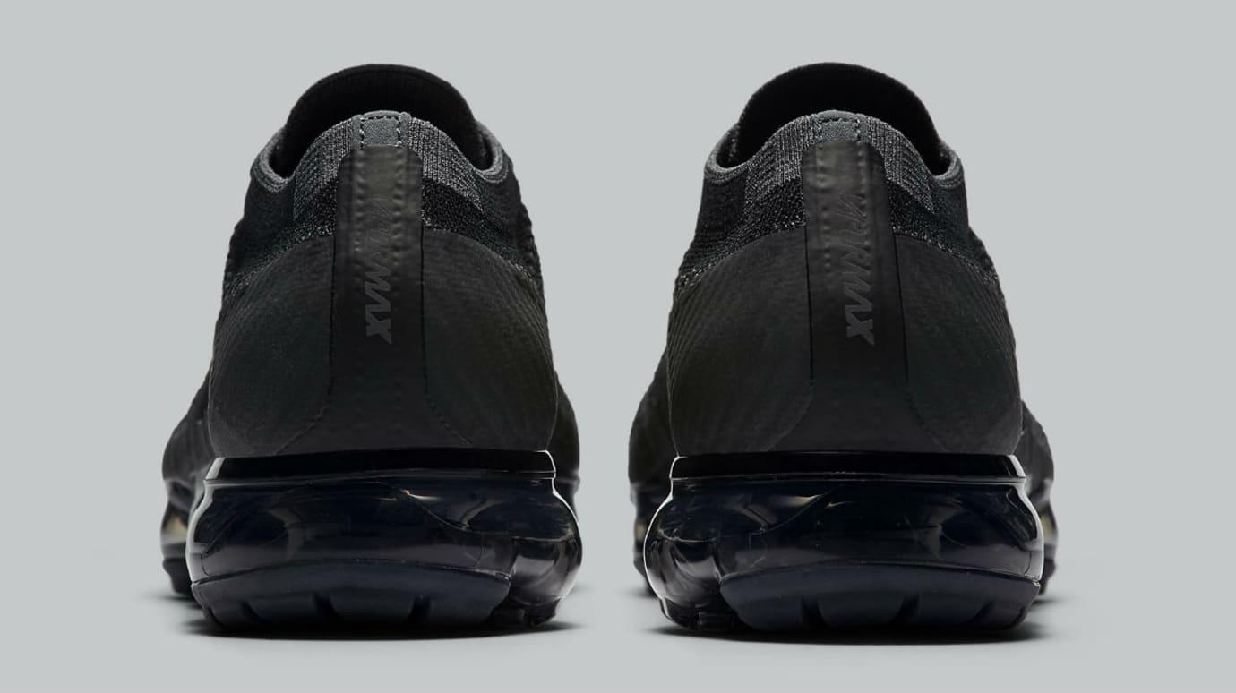 c088ef8b9ddfb Nike Air VaporMax Triple Black Release Date Heel 849558-007