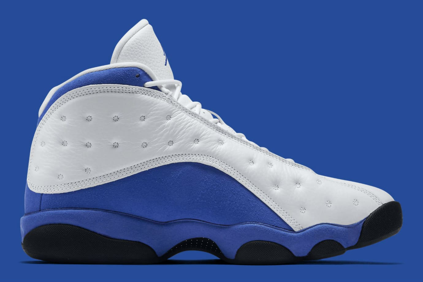 094348170b83 Air Jordan 13 XIII Hyper Royal Q-Rich Release Date 414571-117 Medial