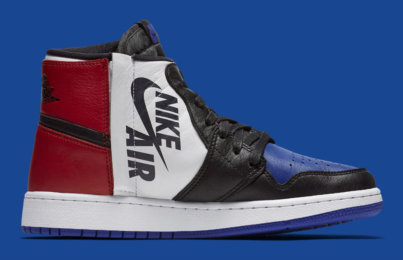 Air Jordan 1 Rebel XX Top 3 Release Date AT4151-001 Medial 8c461376f