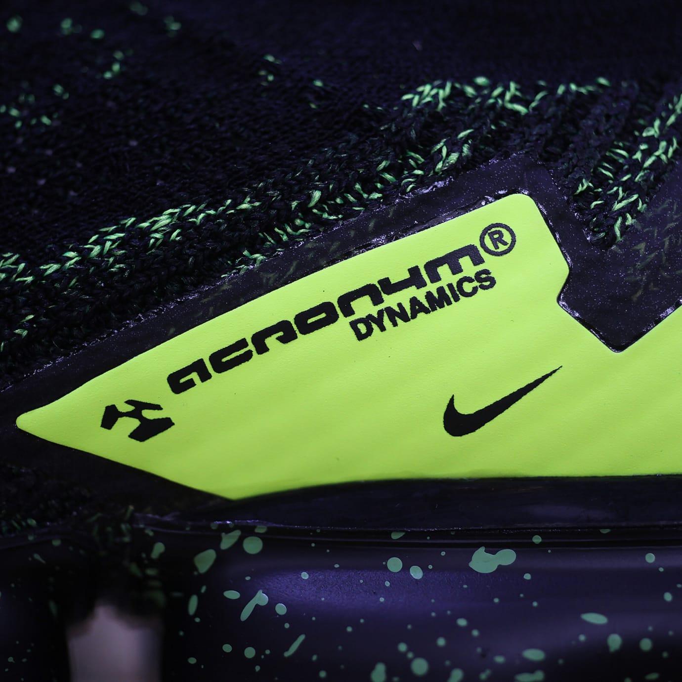 Acronym x Nike Air VaporMax 'Black/Volt' AQ0996-007 (Logo)