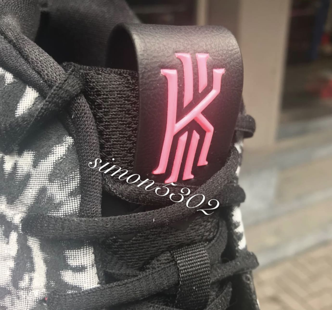 Nike Kyrie 4 'All Star' AQ8623-001 (Tongue)
