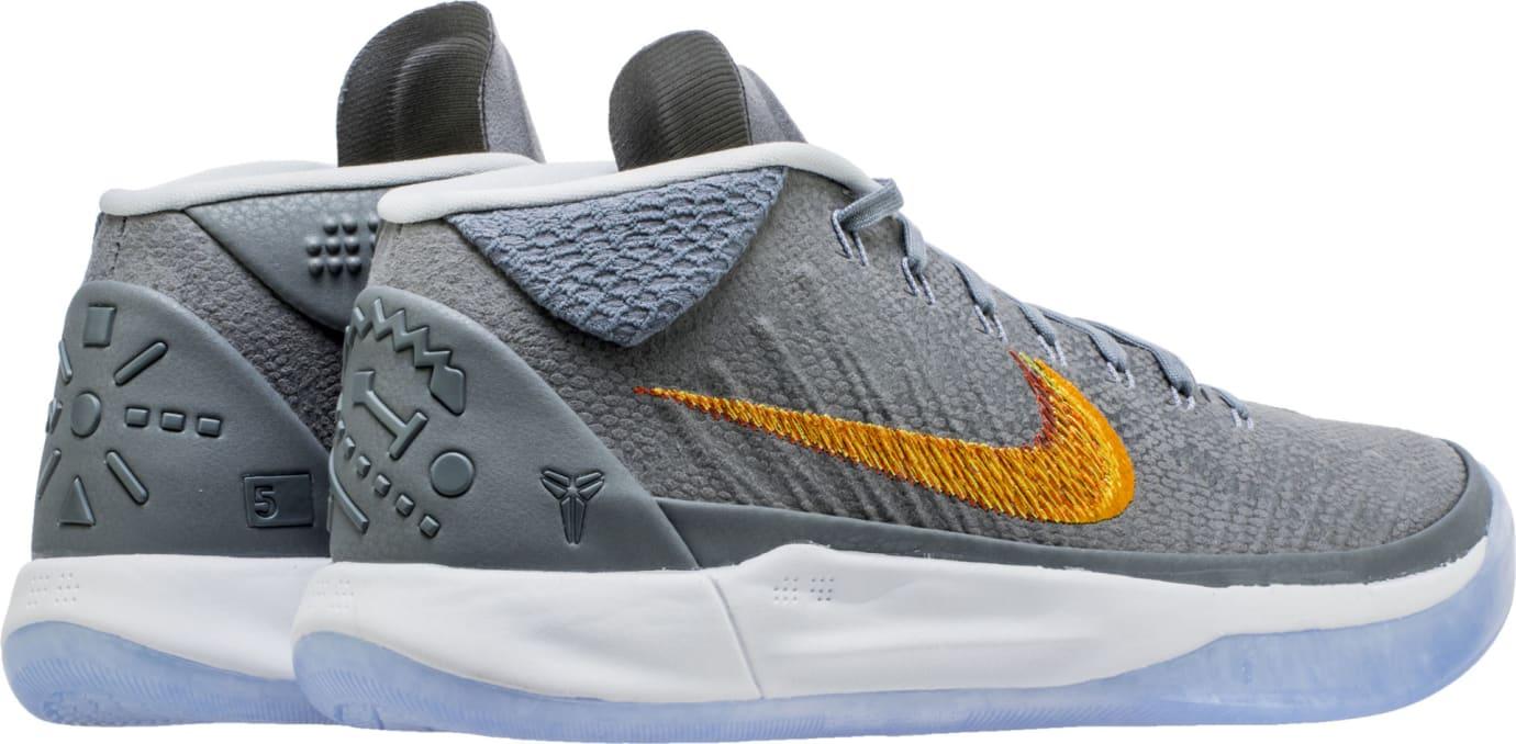 promo code 7b41c 045f7 Nike Kobe A.D. Mid Chrome Release Date 922482-005 Heel