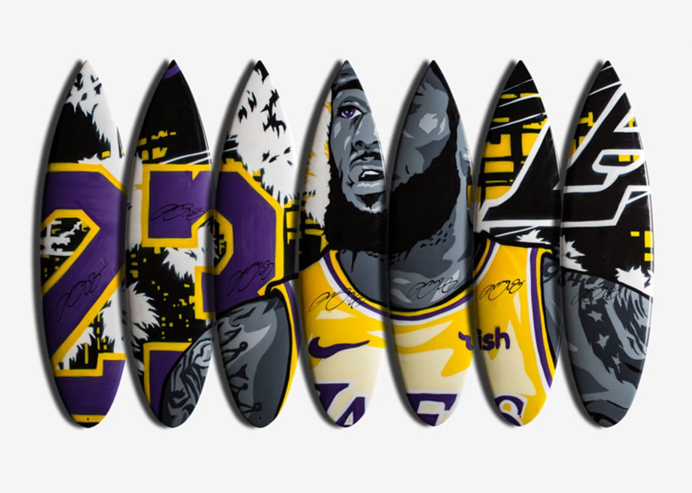 more photos 0f12f 1b45d LeBron I Promise Surfboard Collection Image via Nike