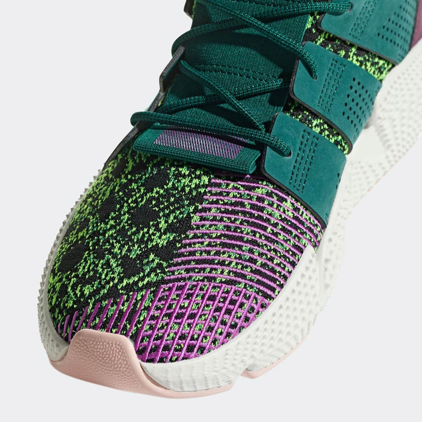 pretty nice d10e7 717d6 Image via Adidas Dragon Ball Z x Adidas Prophere Cell Release Date D97053  Toe